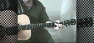 Play 'Down on the Corner' by Creedence on the guitar