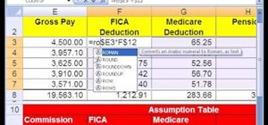 Use Excel round function & number formatting