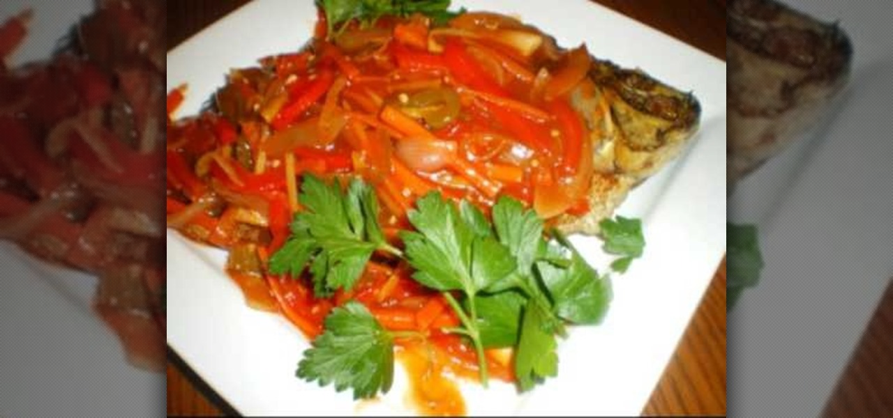 How to make filipino sweet sour tilapia fish fish for How to make tilapia fish
