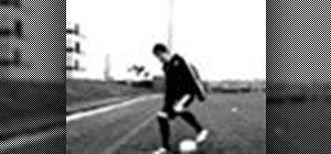 Do the Alla Del Piero soccer move