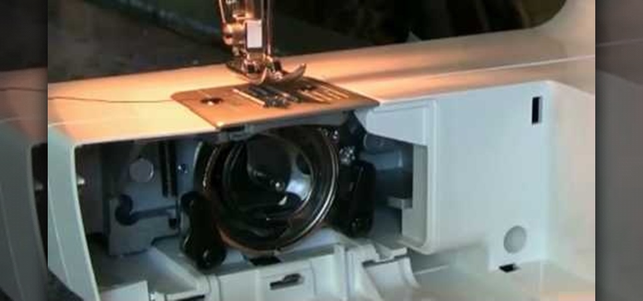 How To Thread A Bobbin On The Brother LS 40 Sewing Machine Extraordinary Brother Sewing Machine Bobbin Case