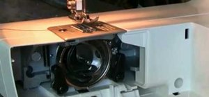 Thread a bobbin on the Brother LS 2125 sewing machine