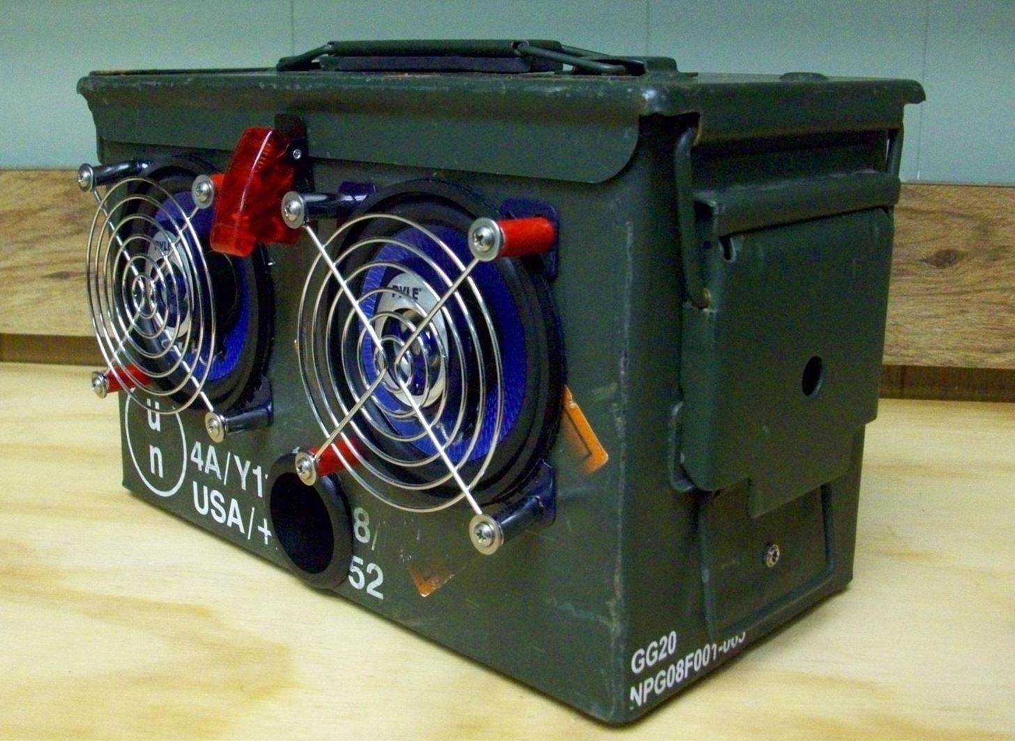 How To Turn Any Ammo Box Into An Awesome Set Of Portable