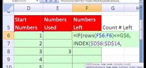 how to create a sudoku puzzle in excel with array formulas