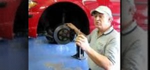 Remove a stripped out brake rotor locator bolt