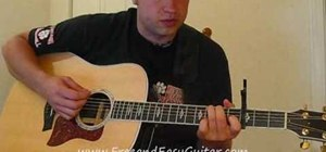 "Play Eric Church ""Love Your Love the Most"" on guitar"