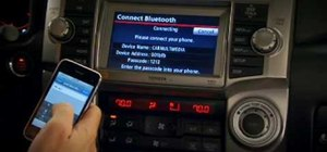 Pair phones to a 2010 Toyota 4Runner navigation system