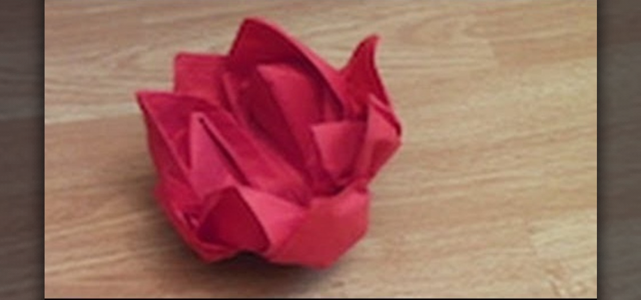 Make a Water Lilly Napkin