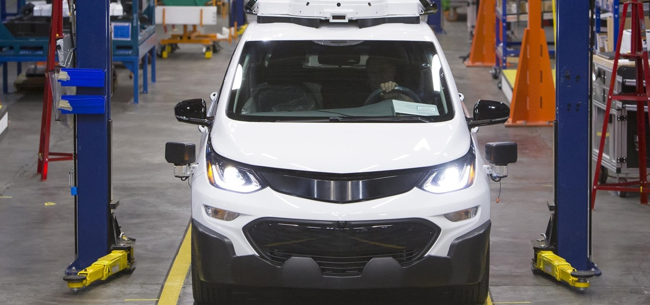 GM Just Has to Flip a Switch to Mass Produce Driverless Bolts