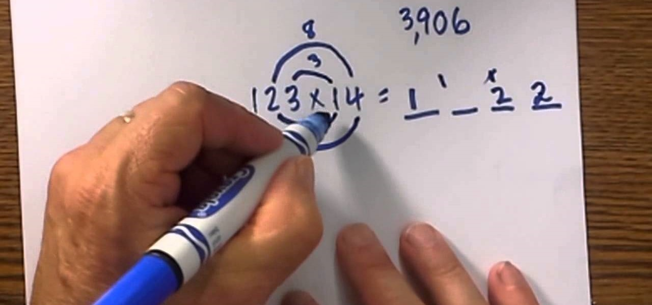 How To Multiply 2 And 3 Digit Numbers Fast Math WonderHowTo