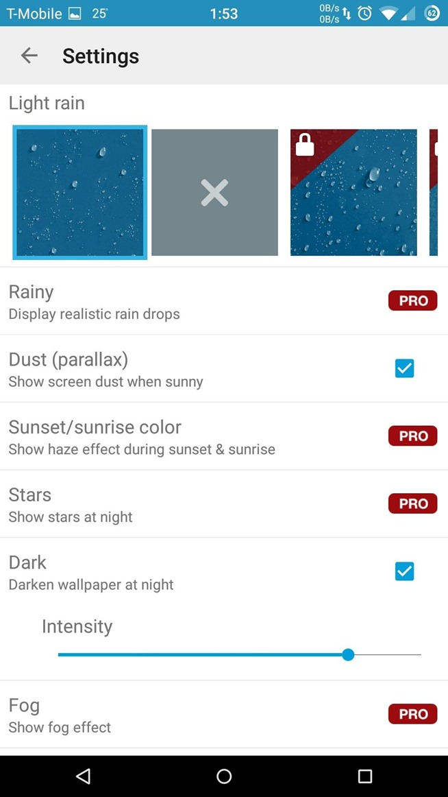 Get Real-Time Effects That Describe the Weather Outside on Your Android's Wallpaper
