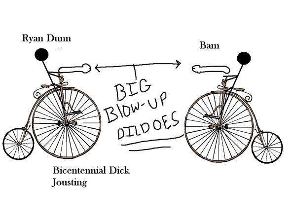 bicentennial dick jousting