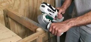 Use and take care of a portable band saw
