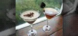 Make two different variations on the espresso martini