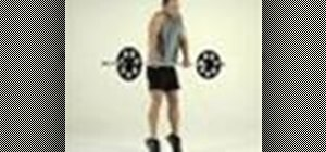 Tone legs with a clean pull exercise