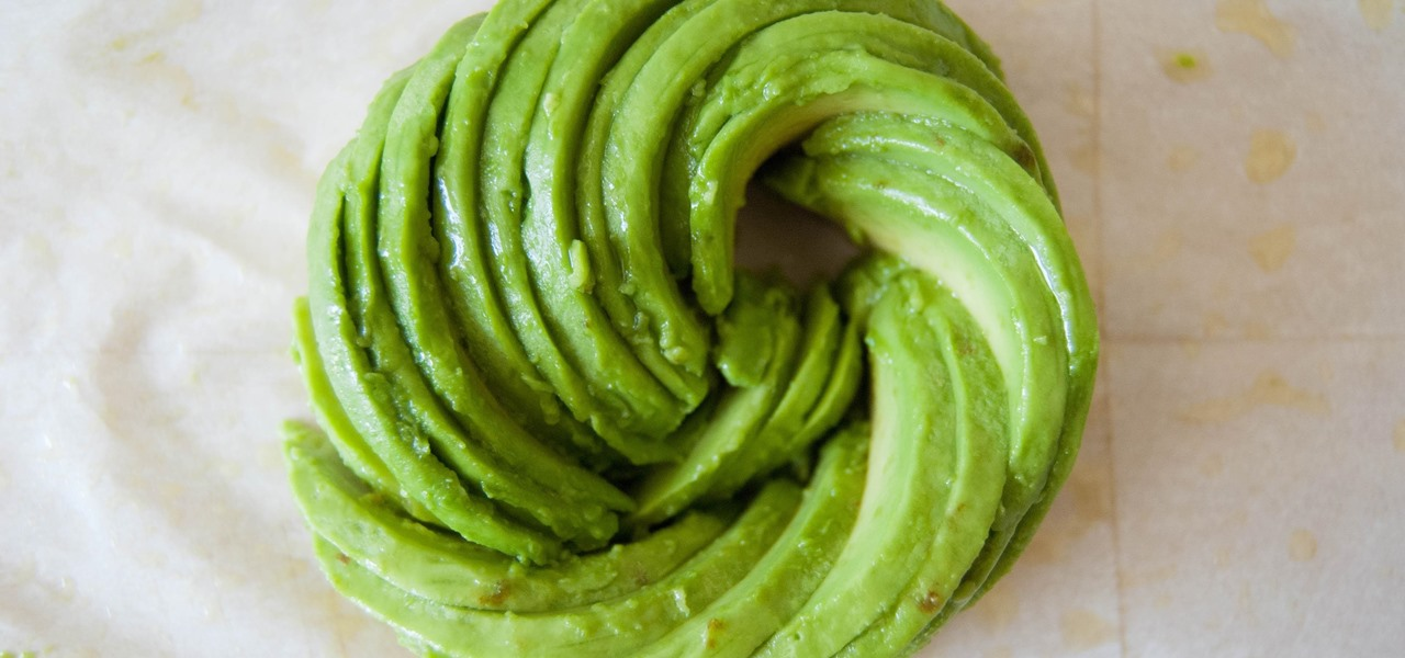 These Dead Simple Avocado Roses Will Make Your Insta Friends Jealous