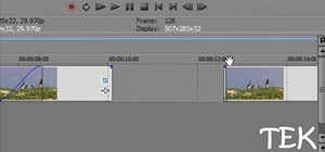 Do different types of fading in Sony Vegas