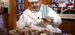 Prepare two chopped ham salads