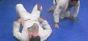 Do the double attack in Brazilian Jiu-Jitsu