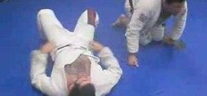 Do the double attack in Brazilian Jiu-Jitsu