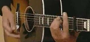 """Play classic Beatles' """"Michelle"""" on acoustic guitar"""
