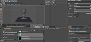 Use the Springs feature in MAXON Cinema 4D R12