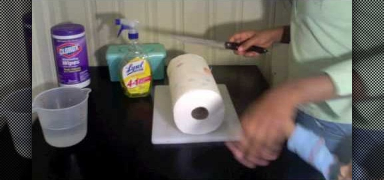 how to make your own cleaning wipes