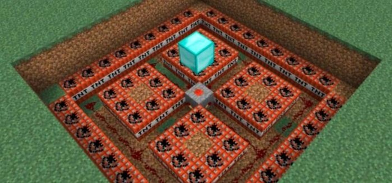 Build a Deadly Roof Lever Trap in Minecraft