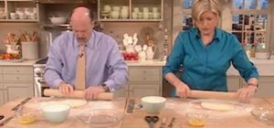 Bake a banana cream pie with Martha Stewart