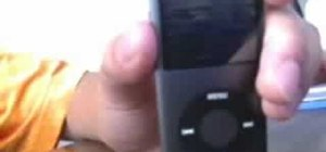 Easily reset your iPod Nano