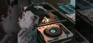 Manipulate the jogg wheel, tables and the pitch to Beatmix DJ on two CDJs