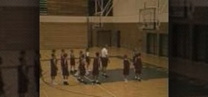 Practice team lay-up basketball drills