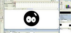 Create a cartoon head using Macromedia Flash