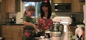 Make a chocolate chip cookie cake