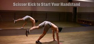 Do regular and one-armed handstands in breakdancing