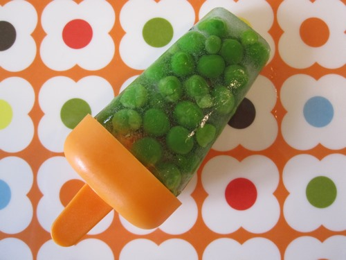 HowTo: Trick Your Kid Into Eating Veggies With (Ew) Pea Popsicles