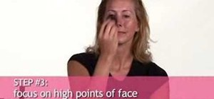 Create a fake tan with makeup