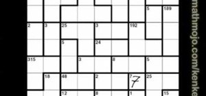 Solve a 9x9 KenKen puzzle without operation signs