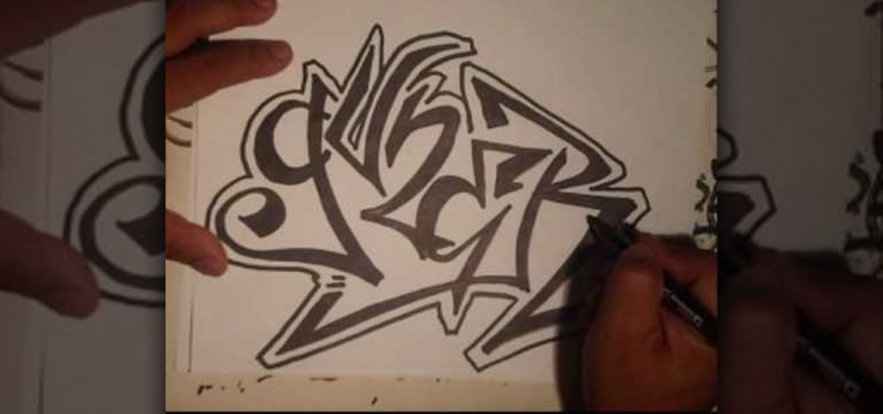 How To Draw A Guner Graffiti Tag With Wizard