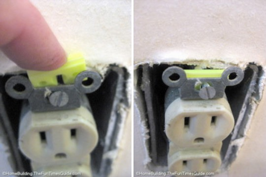 Shortcut: Fix a Wiggly Wall Outlet