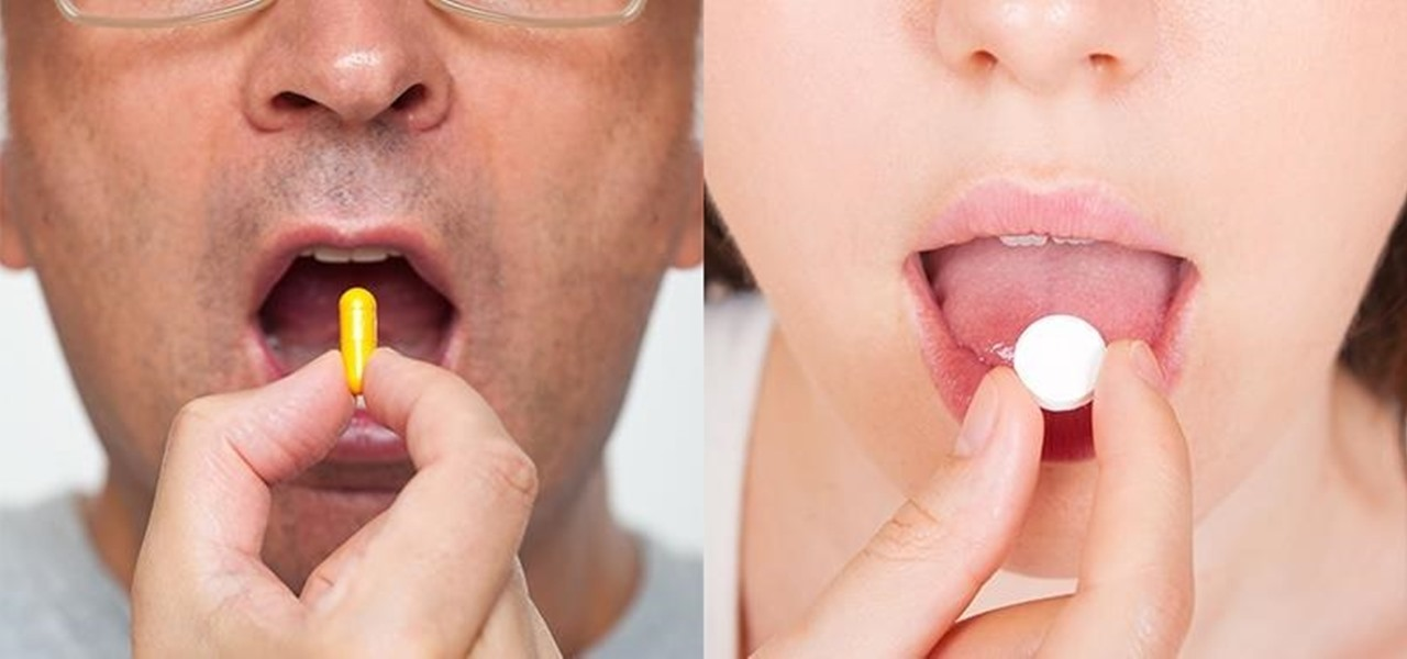 You've Been Taking Pills Wrong Your Entire Life—Here's How You Should Be Swallowing Them