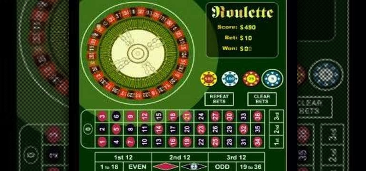 How to win on roulette machines in casino casino connecticut foxwoods