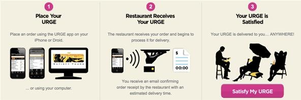 New Mobile App Lets You Order Food for Delivery Practically Anywhere, Even the Beach