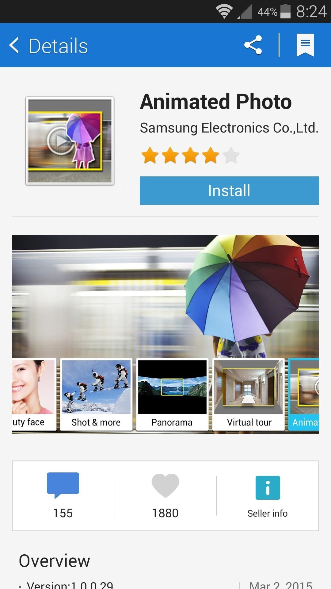 How to Take Still Photos with Subtle Animations on Your Samsung Galaxy Device