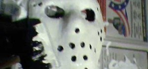 Make a Jason Voorhees mask for Halloween or other scary occasions