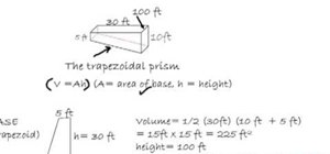 How to Find the volume of a swimming pool « Math