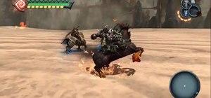 Unlock Dark Rider and Horseman in Darksiders