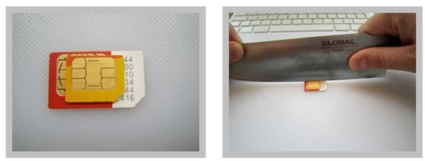 HowTo: Make Your Own iPad MicroSIM (Yes, with a Meat Cleaver)