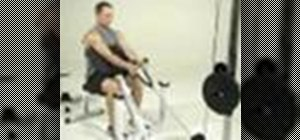 Tone arms with a cable preacher curl exercise