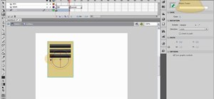Create animated tilting buttons in Adobe Flash CS4